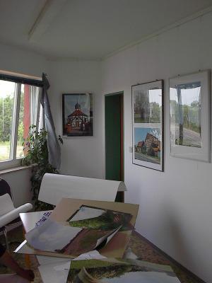 Zahlreiche Ausstellungen finden jährlich im Genthiner Wasserturm statt