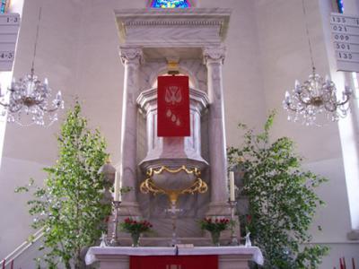 Kanzel in der St. Johanniskirche