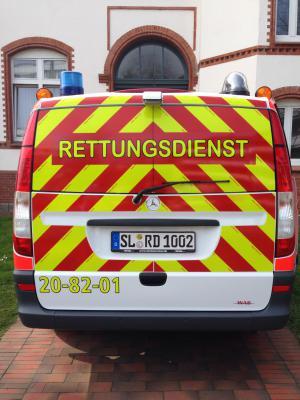 Notarzteinsatzfahrzeug (NEF), Bj. 2014