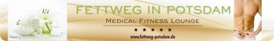 Logo von Fettweg Potsdam - Medical Fitness Lounge