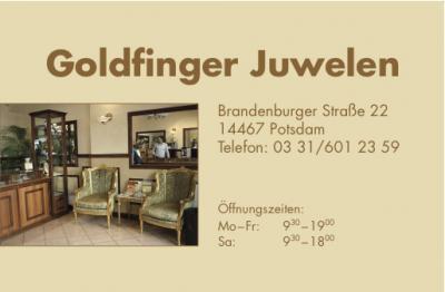Logo von Juwelier Goldfinger