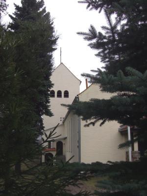 Ansicht Katholische Kirche Tröbitz