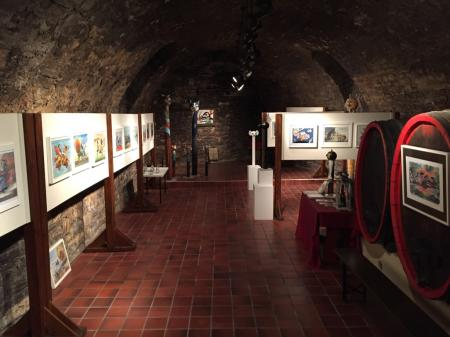 Eingang zur Galerie des Künstlers