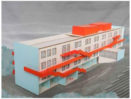 Modell der TU Dresden