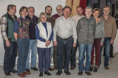 Die neue Naturschutz-Gruppe. Foto: M. Erselius