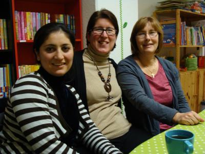 Nargis, Ulrike, Claudia