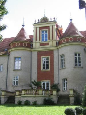 Rückseite Schloss Meyenburg