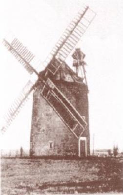 Windmühle Prausitz (Ruine)