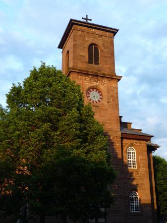 Foto JB: Ev. Kirche