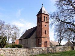 Die Kirche in Klein Ziethen
