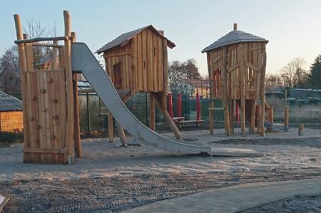 Zerpenschleuse Spielplatz Pirateninsel, Foto: Gemeinde Wandlitz