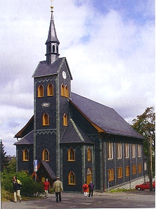 Die Holzkirche zu Neuhaus am Rennweg