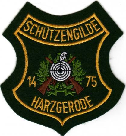 Wappen der Schützengilde mit Gründungsjahr