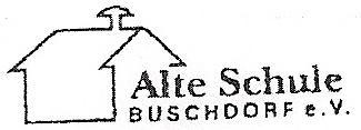 Emblem des Vereins alte Schule Buschdorf
