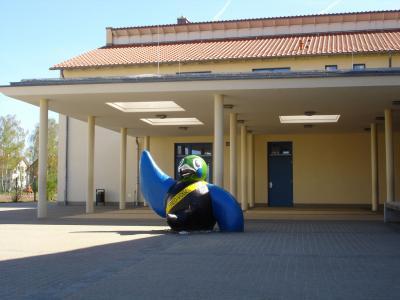 Eingang Fred-Vogel-Schule
