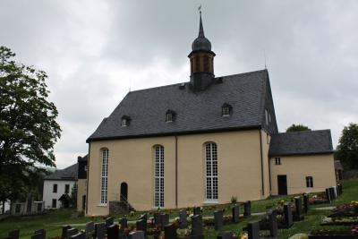 Die Arnsfelder Kirche.