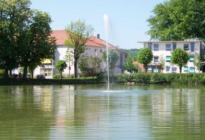 Blick auf den Asternhof