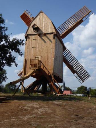 Unsere Mühle auf dem Bammer Mühlenberg im jetzigen Zustand