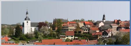 Panorama von Auma