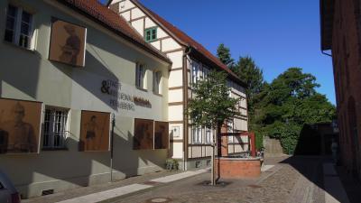 Foto: Stadt Perleberg | Außenansicht des Stadt- und Regionalsmuseum im Mönchort, Perleberg.