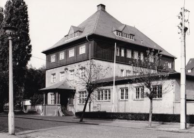 Altes Postamt  Pegau vor der Wende