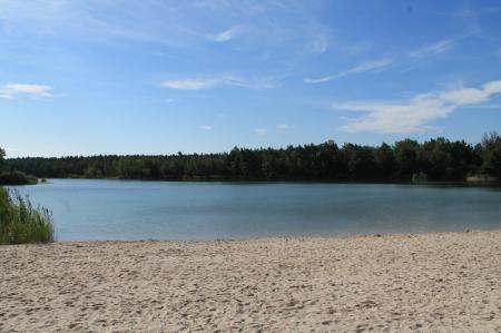 Strand am Rückersdorfer See