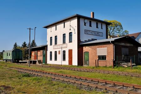 Bahnhof Rothenburg ©Stephan Peereboom