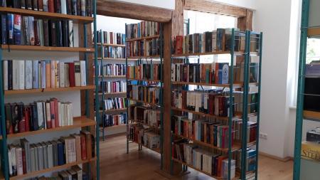 Bibliothek im Haus des Gastes