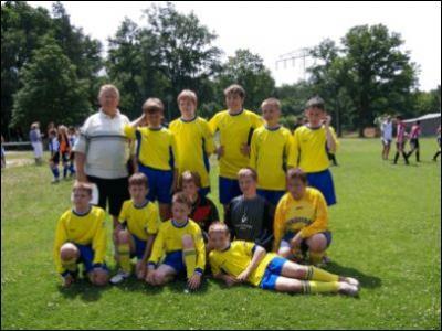 Bild 1: Unsere D-Jugend beim Turnier in Brandenburg