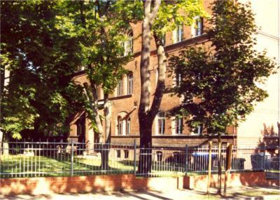 Bismarck-Gymnasum, Haus 1