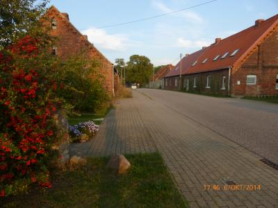 Dorfstraße in Klein Dammerow