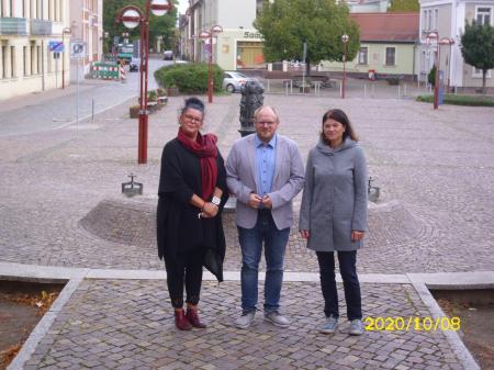 v.l. Frau Sylke Besser-Krähling, Herr Mathias Henning-Kersten, Frau Anke Paulick