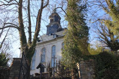 Die Kirche in Gornsdorf.