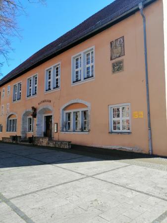 ehemaliger Ratskeller - heute Sitz des Kultur- u. Heimatvereins