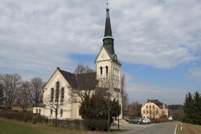 Kirche in Eibenberg.