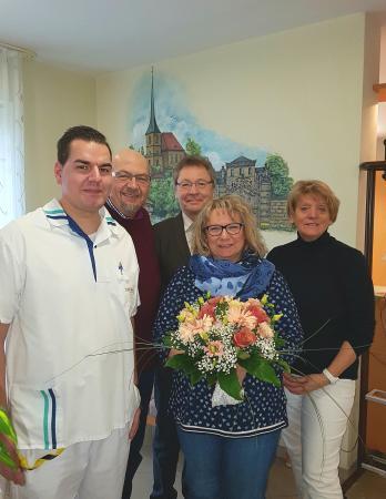 Einführung der neuen Pflegedienstleitung Frau Gertrud Sticht