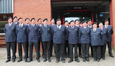 Einsatzabteilung der Feuerwehr Kühren