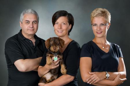 Ihr EMMA Das Foto Studio - Team mit Leopold