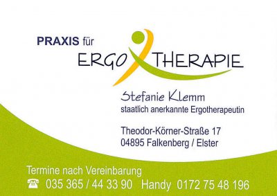 Falkenberg Elster De Praxis F 252 R Ergotherapie Stefanie