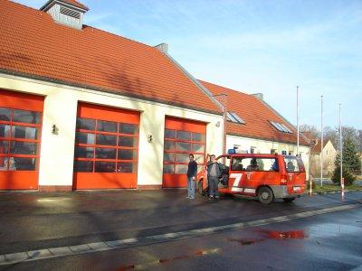 © Foto: K. Schulze – Freiwillige Feuerwehr im Ortsteil Groß Machnow