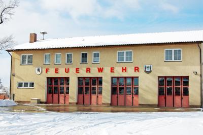 Veranstaltungsort ist das Feuerwehrgerätehaus in Calau. Foto: Archiv