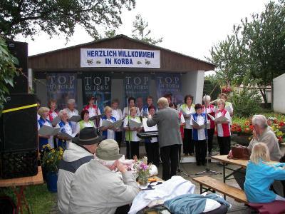 Frauenchor zum Chortreffen in Körba