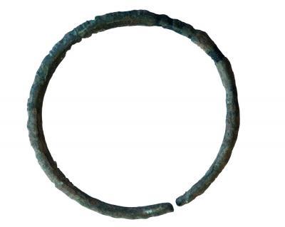 Gerippter Armring - ein typisches Fundstück aus der späten Hallstattzeit