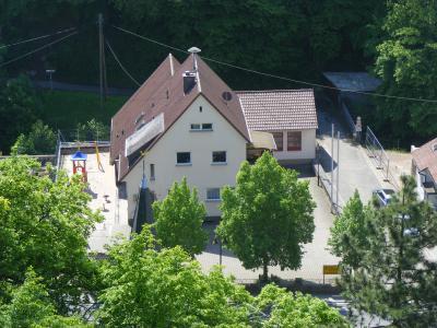 ehemaliger Schulhof in Dalberg