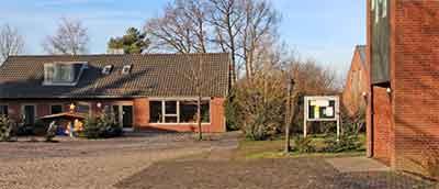 Gemeindehaus Hemdingen neben der Christus-Kapelle