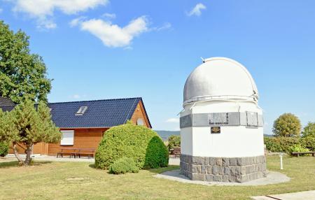 Kuppel der Sternwarte in Sohland a.d. Spree Foto: Uwe Schwarz