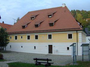 Rathaus in Königstein (Rückseite)