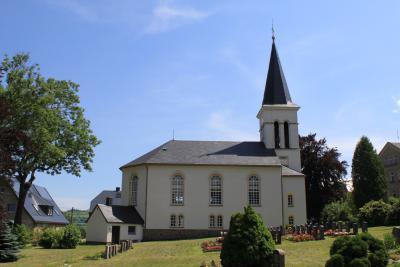 Die Kirche in Geyersdorf.