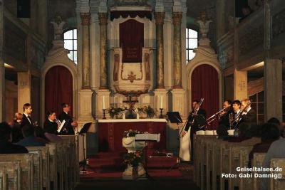 Konzert in der durch den Förderverein restaurierten Kirche St. Kilian Gröst – Foto: G. Damnig