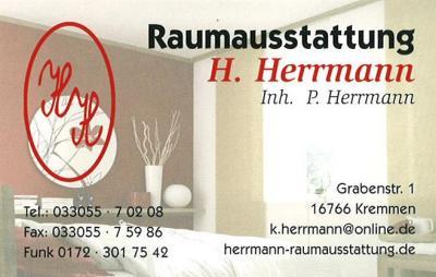 Raumausstatter wappen  kremmen.de - Raumausstattung H. Herrmann